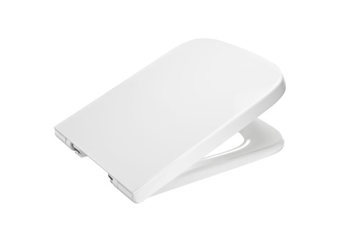 Tapa y asiento para inodoro con caída amortiguada