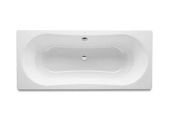 Rectangular steel bath (3 mm steel sheet)