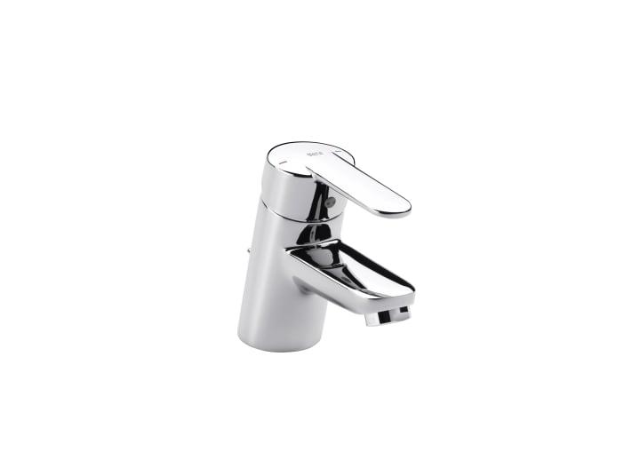 Mezclador monomando para lavabo con desagüe automático