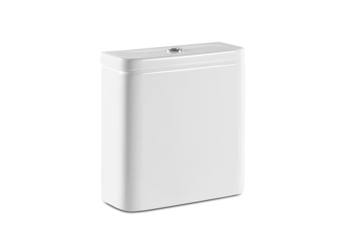 Cisterna de doble descarga 4/2L con alimentación inferior para inodoro compacto