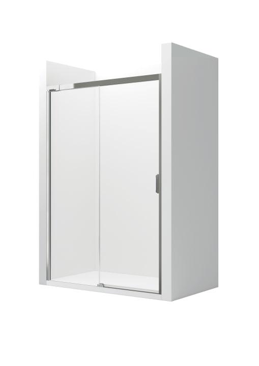 L2-E - Frontal ducha de 1 hoja corredera + 1 fija