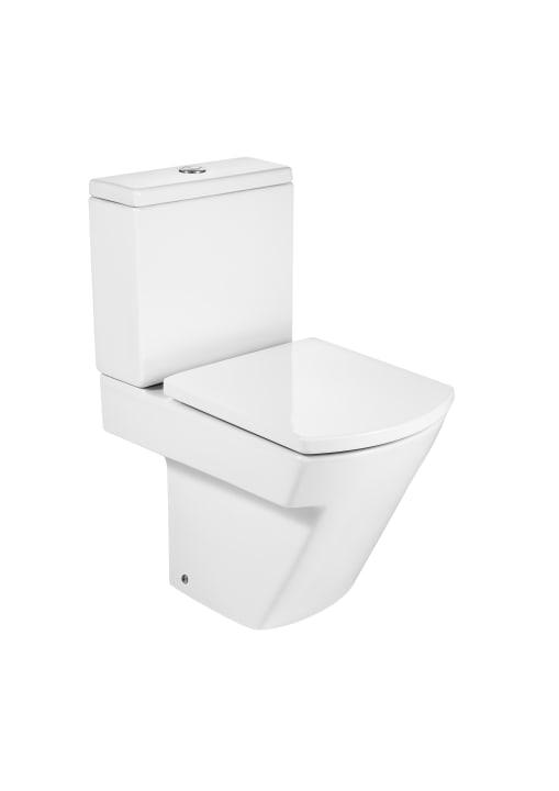 Inodoro compacto con salida dual cisterna y tapa no for Tapa cisterna roca