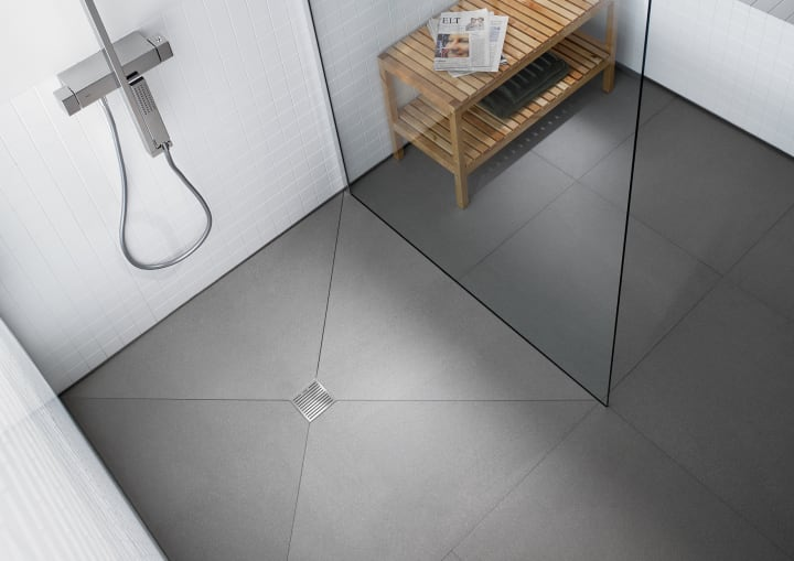 In drain platos de ducha soluciones ducha for Valvula plato de ducha