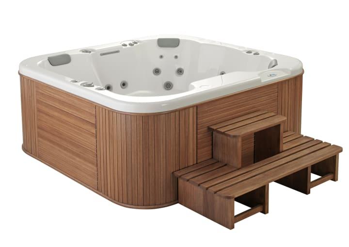 Escalera alta para spa accesorios para spas spas - Articulos para spa ...