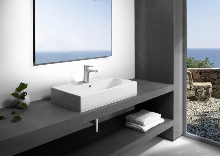 Diverta soluciones lavabo y mueble colecciones roca for Lavabo roca modelo hall