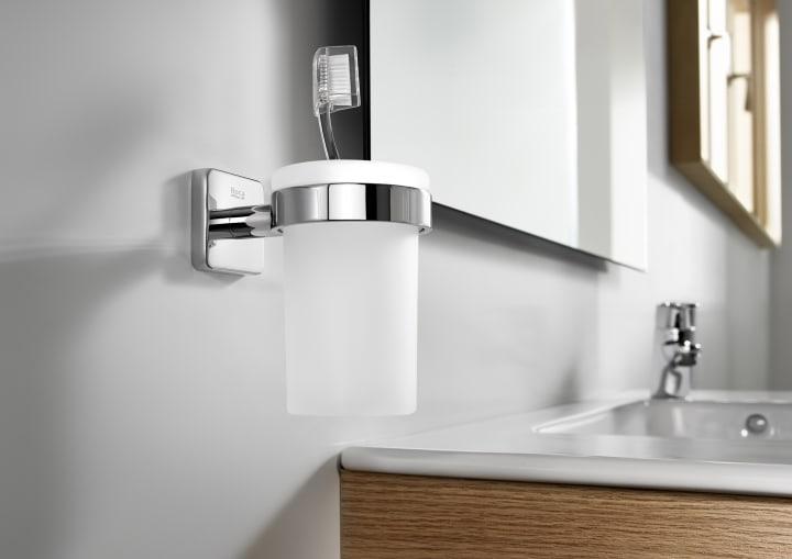 Toallero de lavabo posibilidad de instalaci n mediante for Accesorios para lavabo