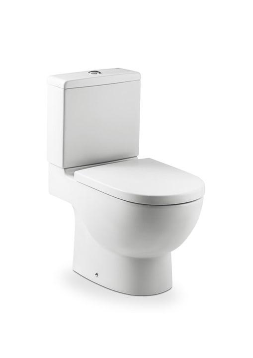 Inodoro completo con salida dual incluye taza cisterna for Modelos de water roca