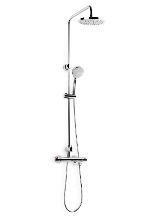 Columna termost tica para ba o ducha con ca o inferior for Catalogo griferia roca