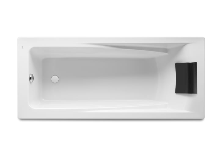 Bañera acrílica rectangular