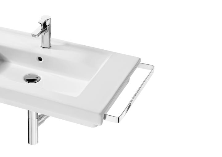 Toallero lateral derecho para lavabo