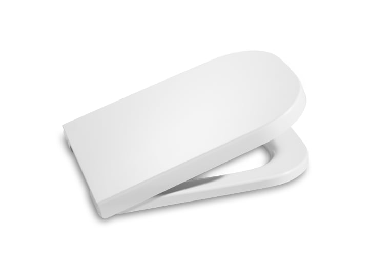 Soft-closing seat and cover for toilet
