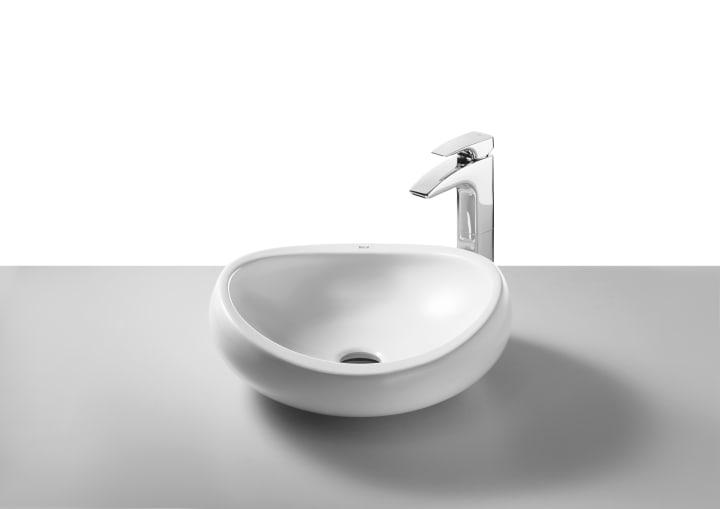 Urbi 1 lavabo de porcelana de sobre encimera lavabos - Lavabos pequenos sobre encimera ...