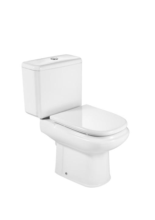 Inodoro con salida a pared cisterna y tapa no incluidos for Tapa cisterna roca