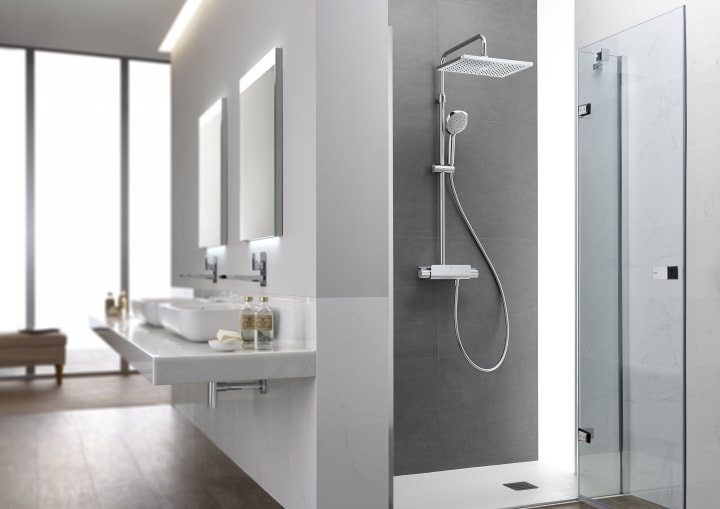 Deck duchas y columnas soluciones ducha colecciones - Como montar mampara de ducha ...