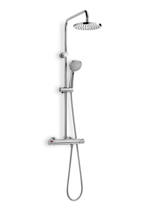 Columna de ducha termost tica columnas de ducha for Griferia ducha homecenter