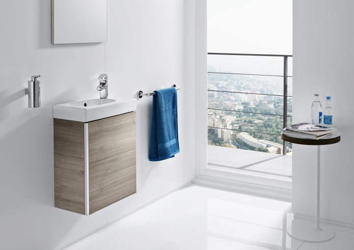 Soluciones lavabo y mueble colecciones roca for Modelos de lavabos roca