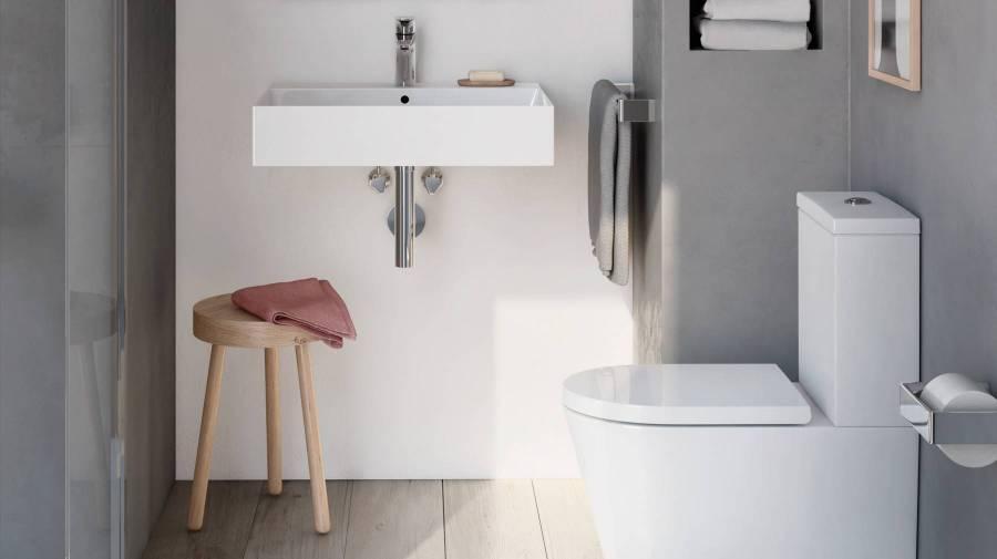 Colección Inspira de Roca para baños pequeños