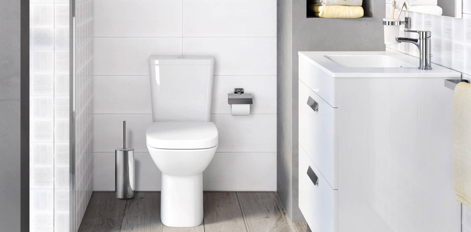 Baños pequeños | Ideas y consejos para baños pequeños | Roca ...