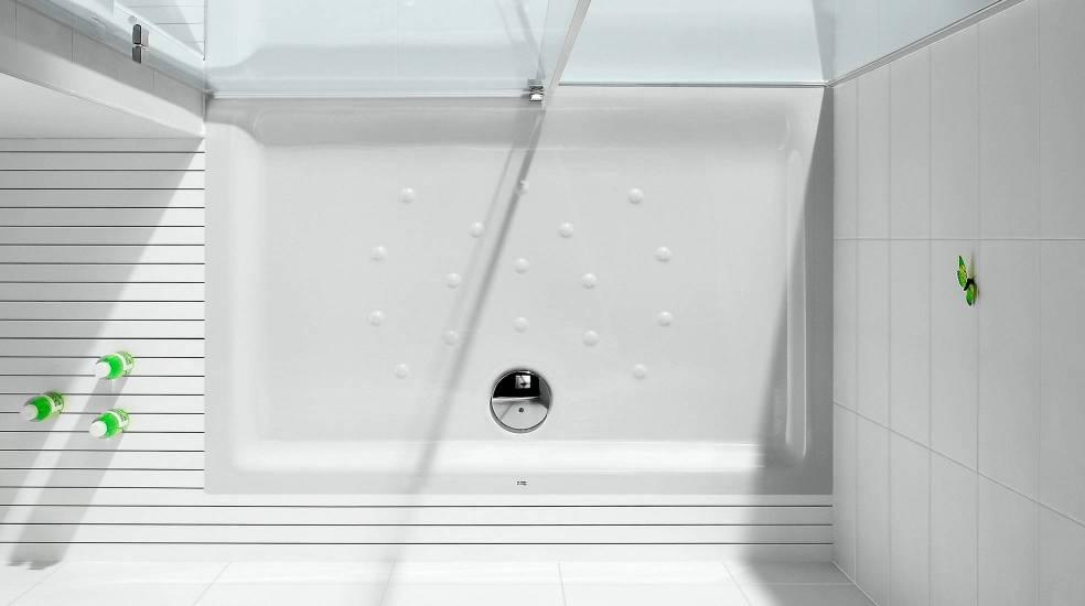 Platos de ducha de porcelana, económicos, resistentes y de fácil limpieza