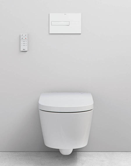 Smart Toilet de Roca con diseño minimalista