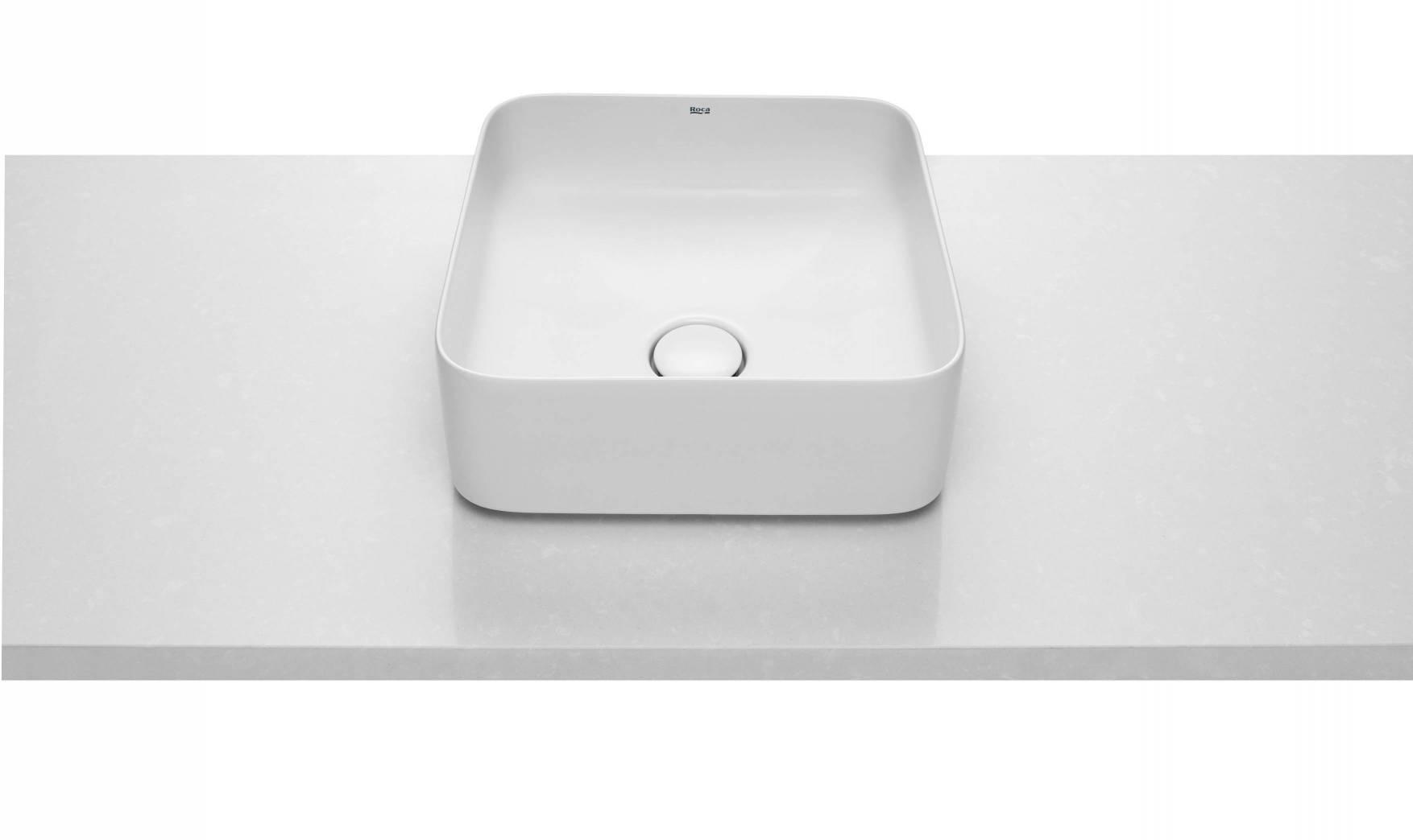 Lavabo con forma Square de la colección Inspira de Roca