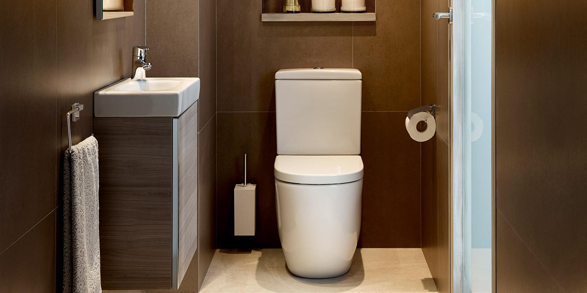 c1ce56c87 Menos es mucho más - Ideas para baños pequeños | Roca Life
