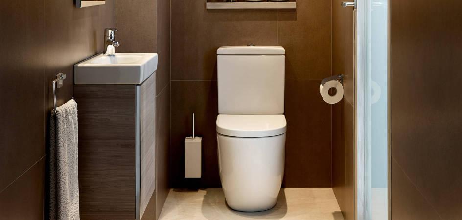 Menos es mucho más - Ideas para baños pequeños | Roca Life