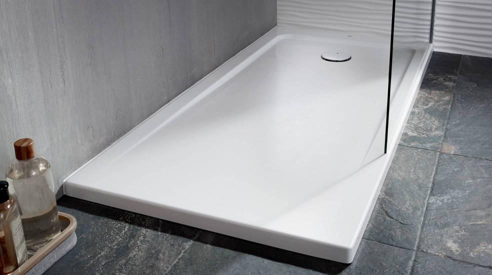 Platos de ducha acrílicos, ligeros, cálidos y resistentes a los golpes