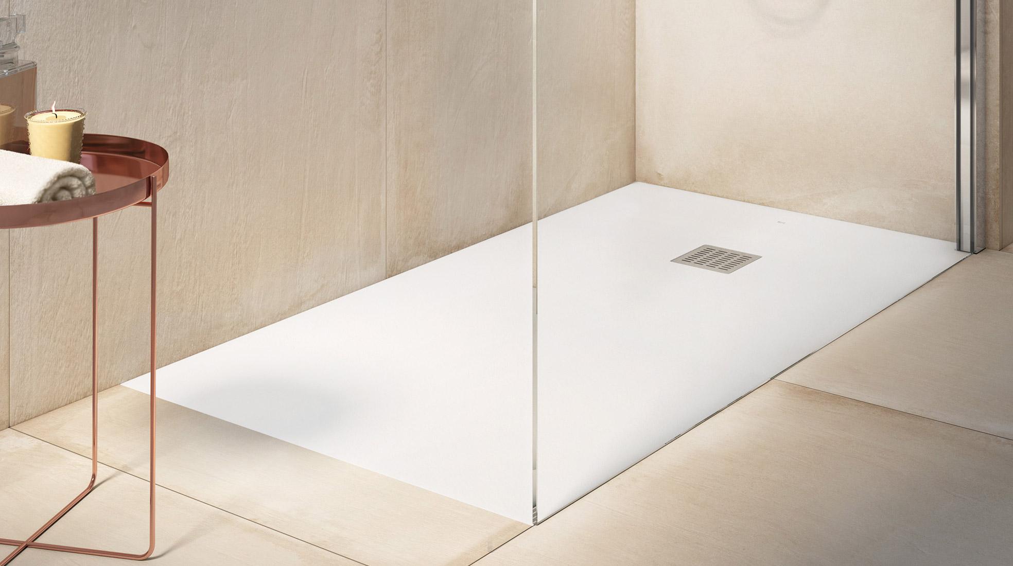 Platos de ducha que miran por ti roca life for Instalar plato ducha resina