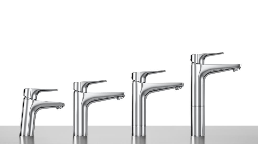 Diferentes opciones de altura de grifos para lavabo