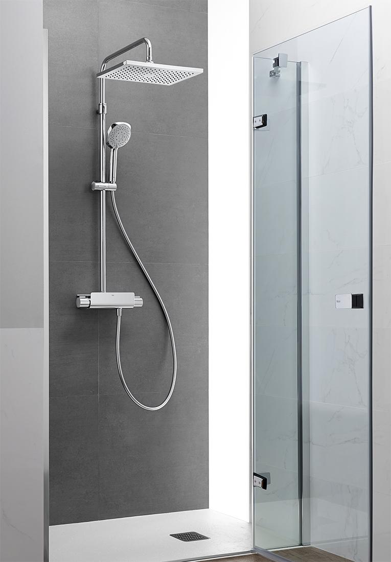 Columna de ducha termostática Deck de Roca