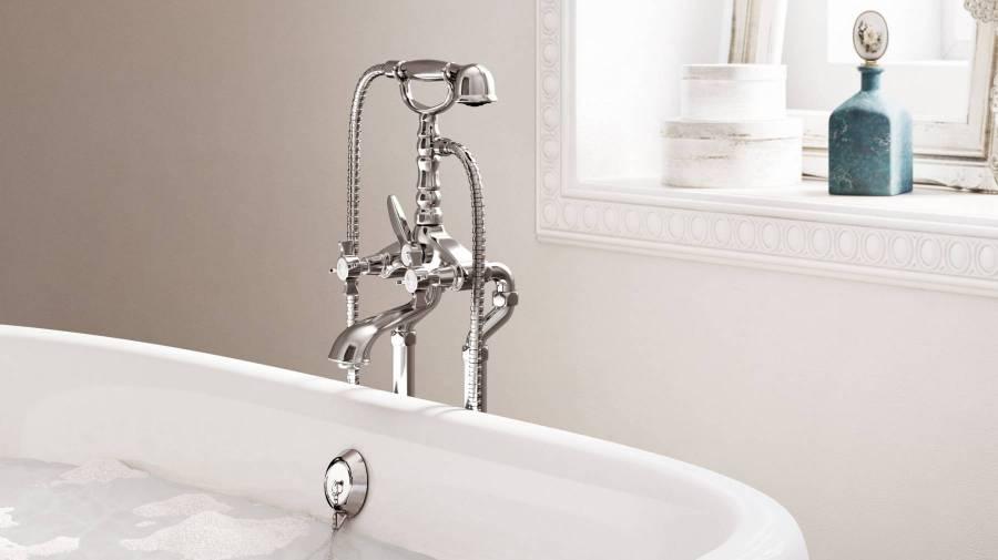 Grifería para bañera clásica Florentina de Roca