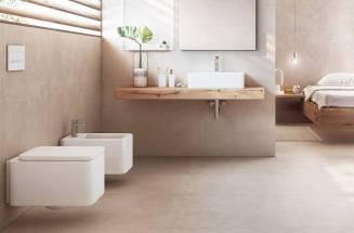 Estilo minimal en el baño