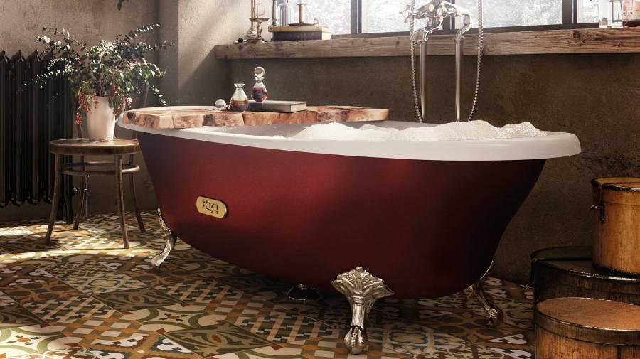 Bañera clásica Newcast de Roca