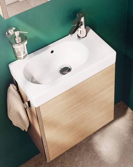 Mueble de baño Mini de Roca para espacios pequeños