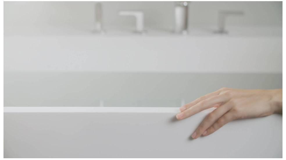 Bañera Modo de Roca fabricado en Surfex®