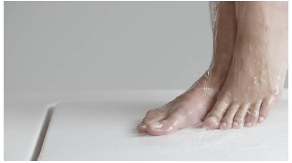 Plato de ducha Modo de Roca fabricado en Surfex®