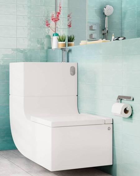 W+W de Roca, lavabo y WC integrados