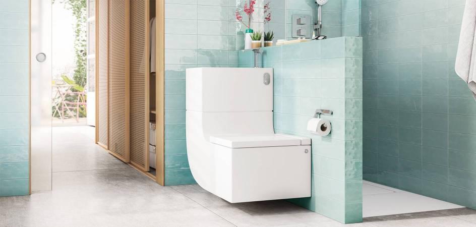 W+W de Roca (Washbasin + Watercloset)