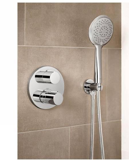 Grifería termostática para ducha T-1000 de Roca