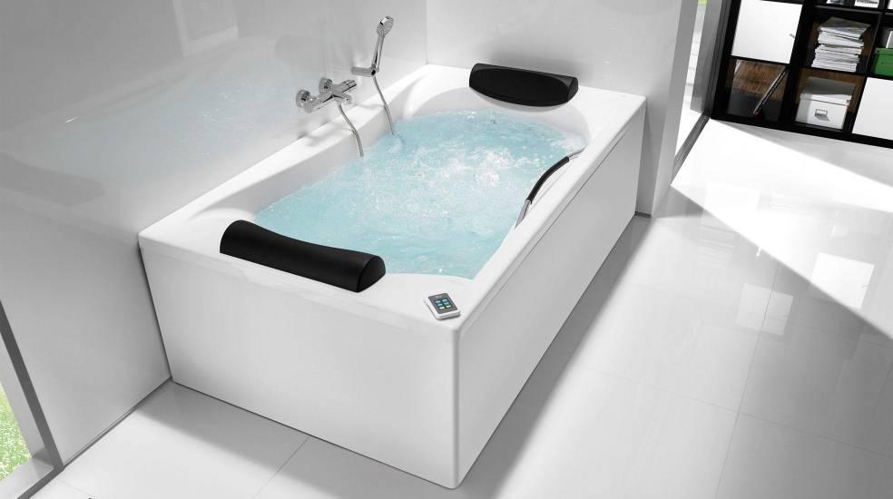 Bañera con hidromasaje de Roca