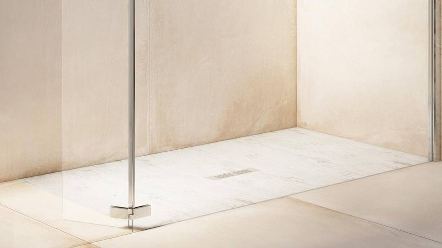 Plato de ducha Helios de Stonex® extraplano