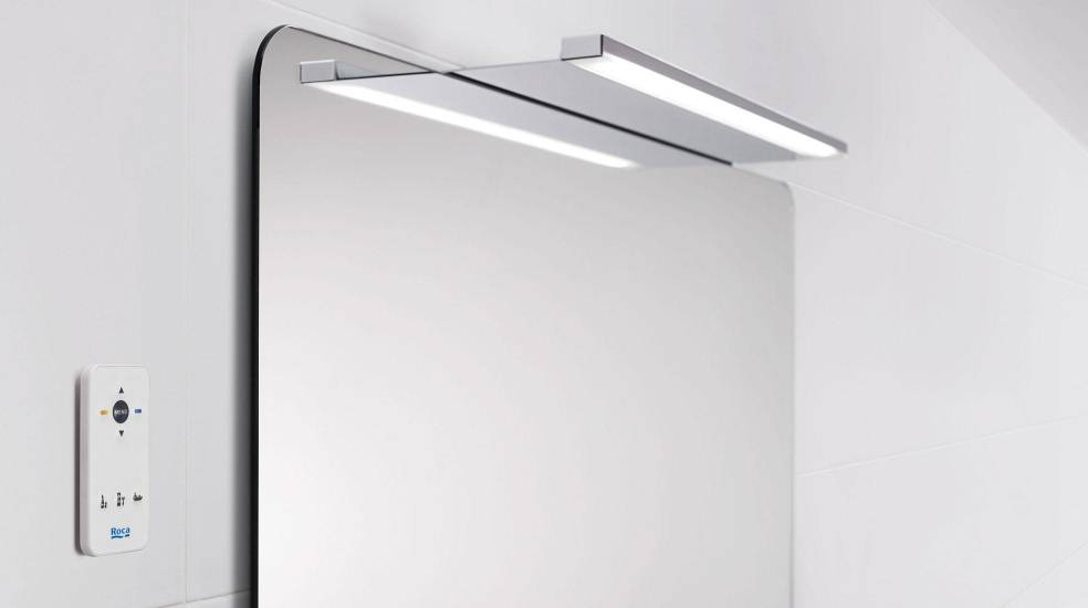 Aplique LED para espejo de Roca