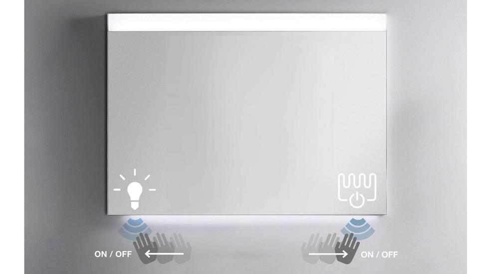 Espejo con tecnología Touchless de Roca
