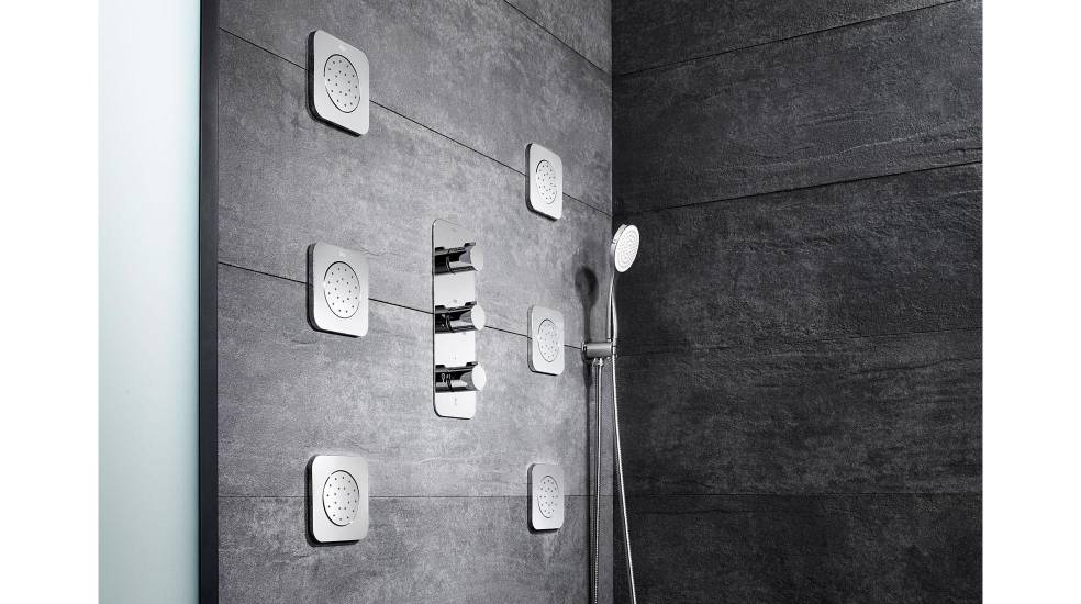 Grifería termostática para ducha Puzzle de Roca