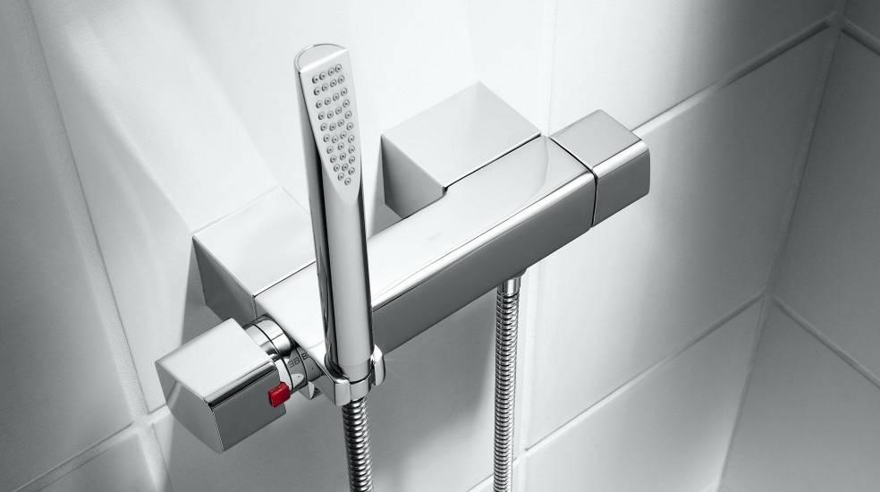 Grifería termostática para ducha Thesis de Roca