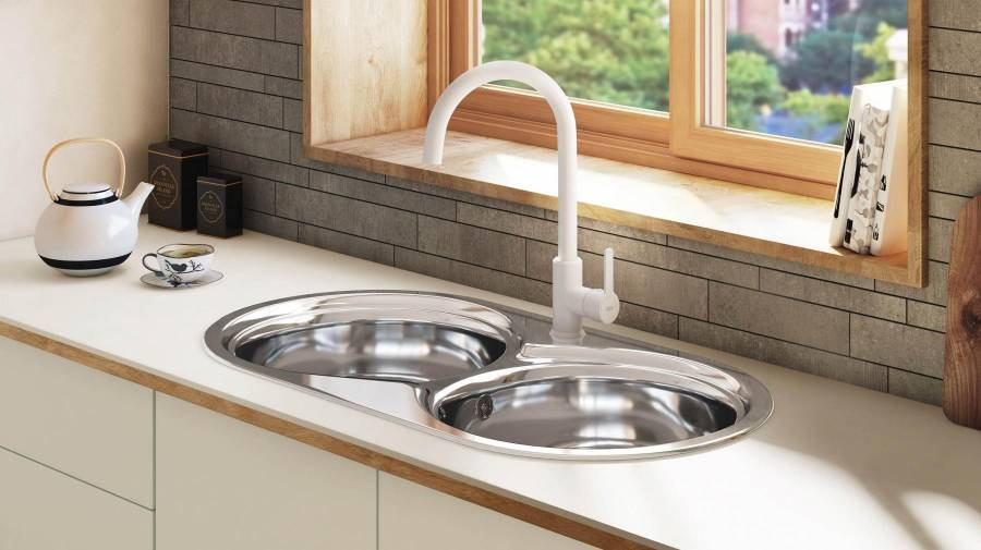 Mencia Kitchen Faucet White