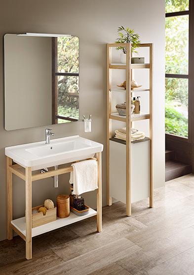Furniture structure wood Natura