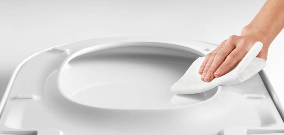 Conoce Supralit®, la exclusiva resina de Roca que protege los WC's y bidés