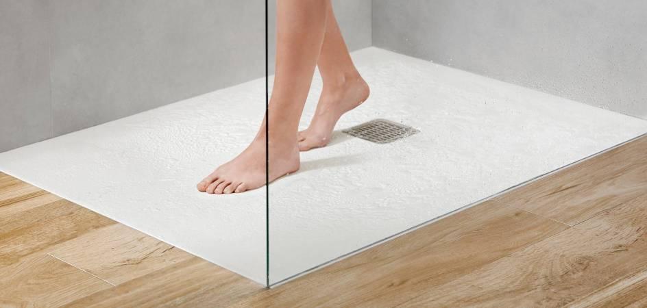 resin shower trays, antislip shower trays, stonex shower trays